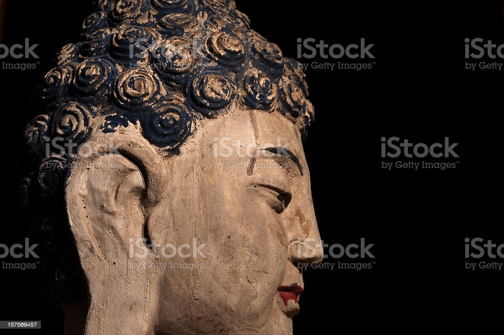 Buddha Portrait stock photo