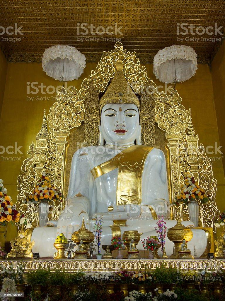 Buddha, Sandamuni Pagoda, Mandalay, Myanmar stock photo