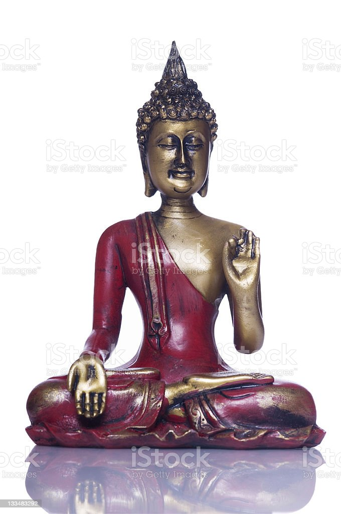 Buddha series, with Clipping Path royalty-free stock photo