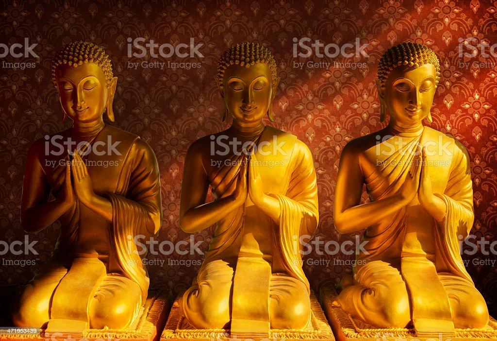 Buddha statue, Bangkok Thailand royalty-free stock photo