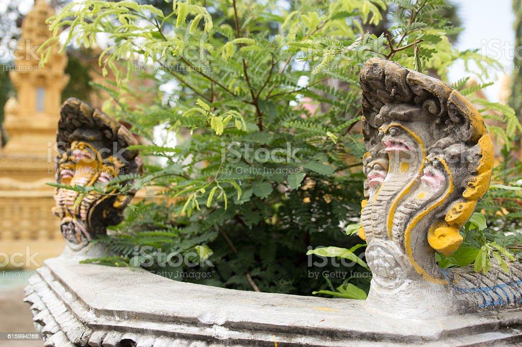 Buddha statue, Battambang, Cambodia, South, East, Asia stock photo
