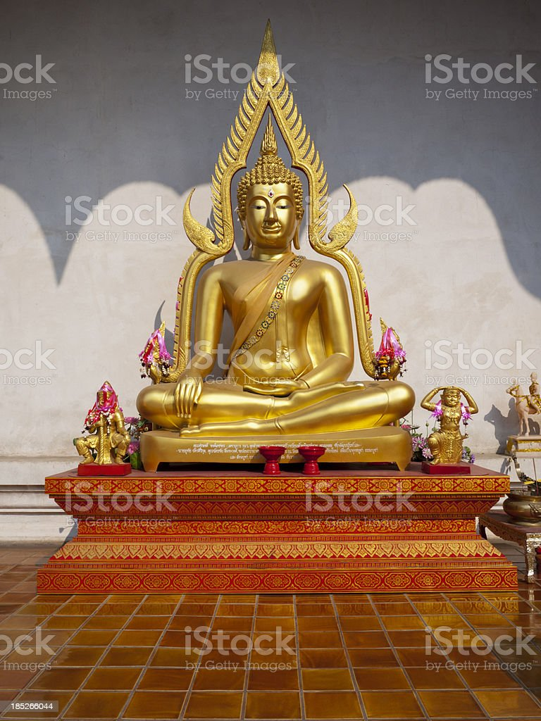 Buddha Statue in Chiang Mai Thailand royalty-free stock photo