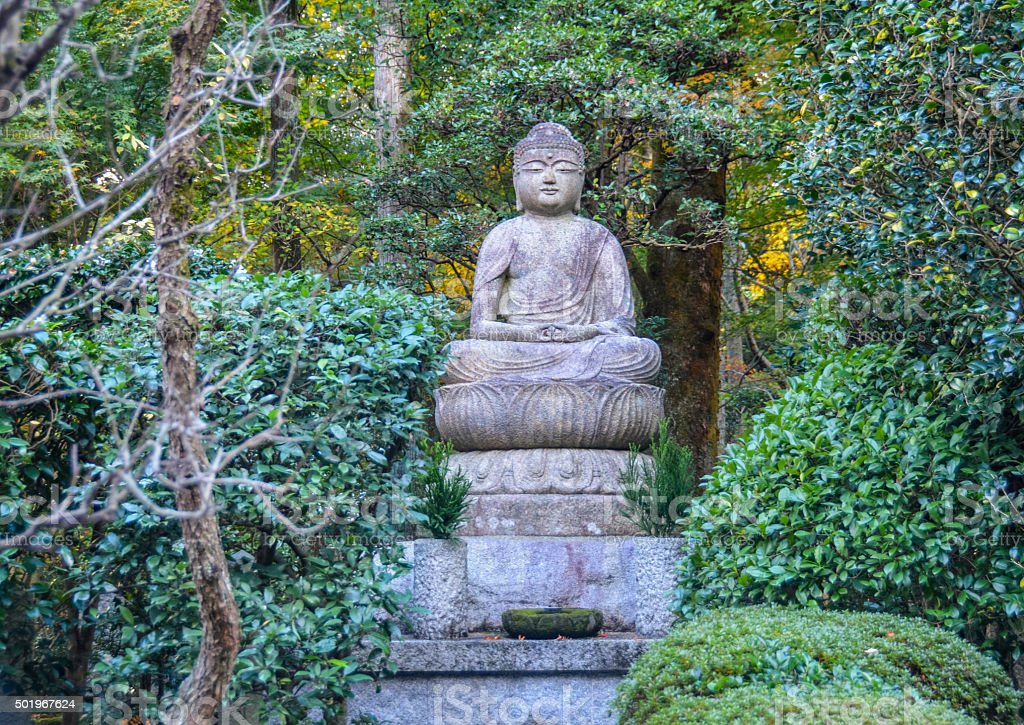Buddha statue - Japan stock photo