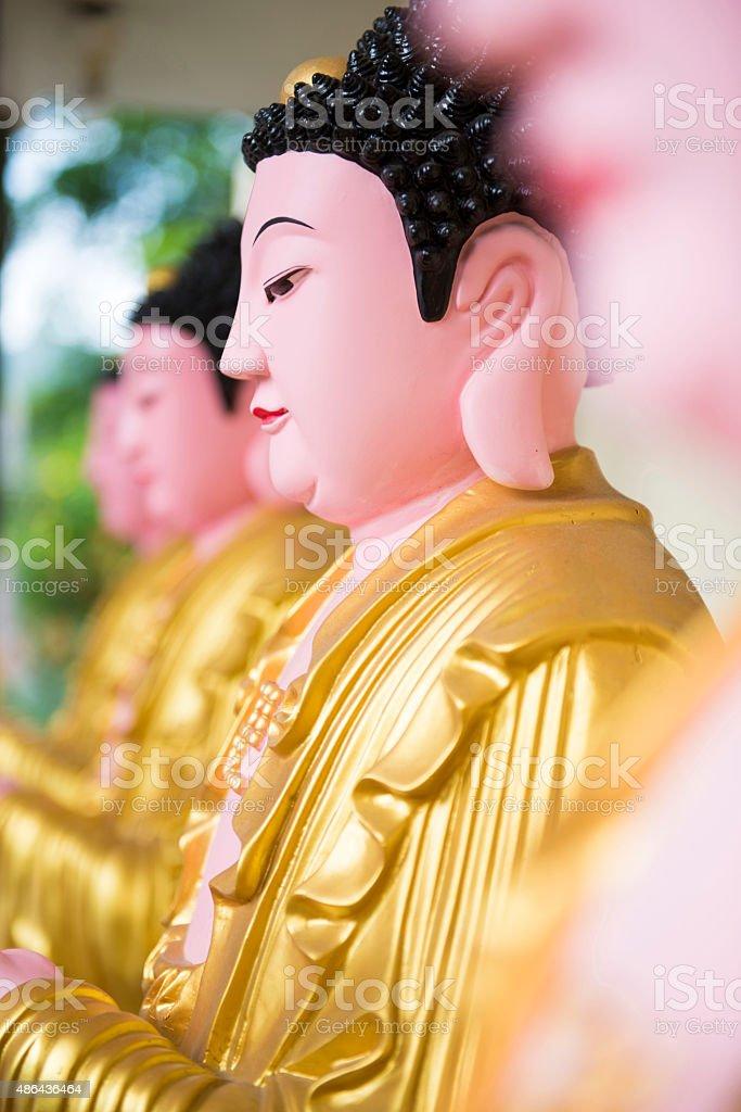 buddha statue kek lok si temple in Penang stock photo