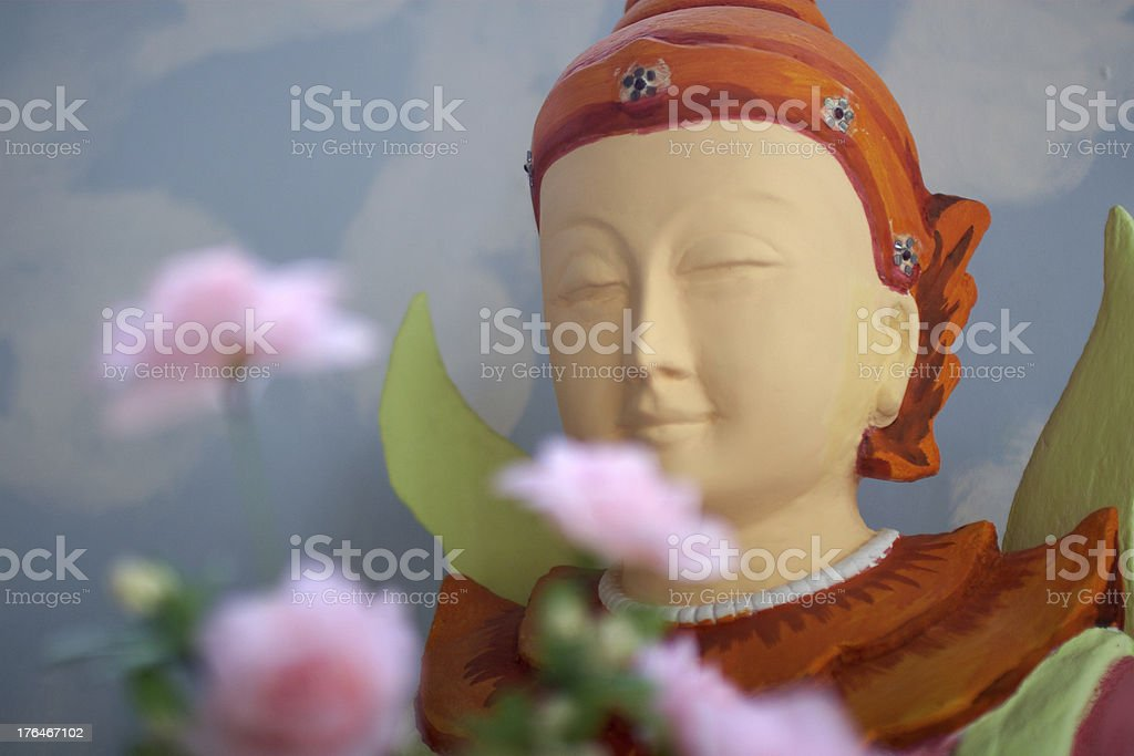 Buddha statue. Myanmar. Twente. royalty-free stock photo