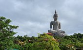 Buddha statue on the mountains