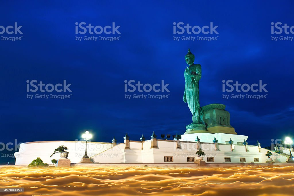 Buddha statue . royalty-free stock photo