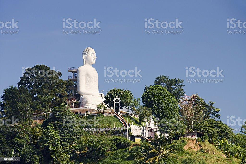 Buddha statue, Sri Lanka, Kandy stock photo