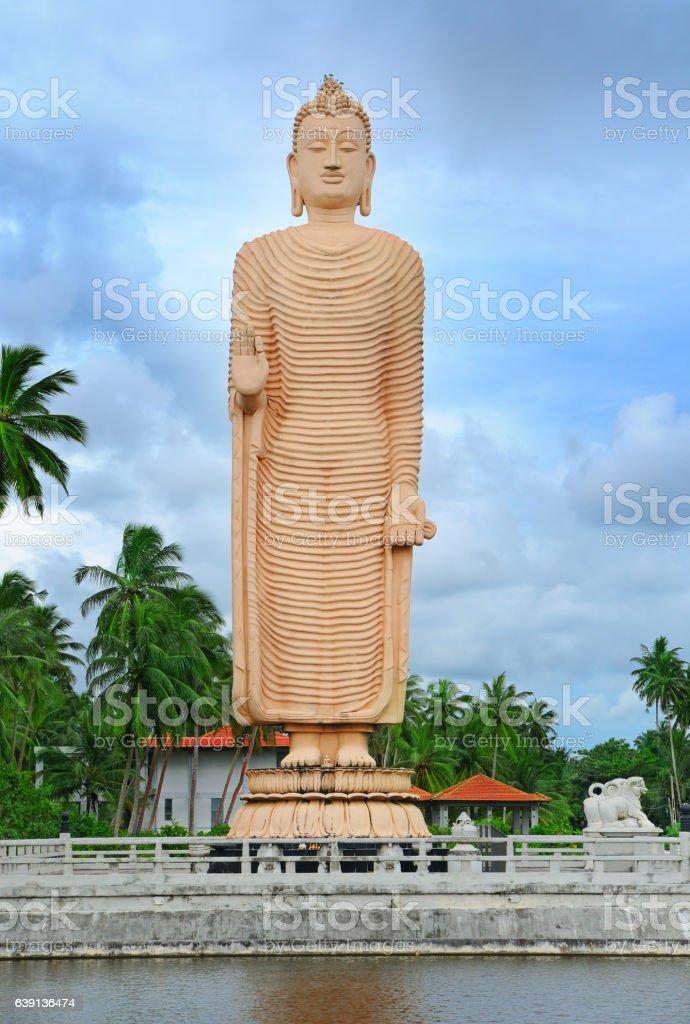 Buddha statue, Sri Lanka stock photo