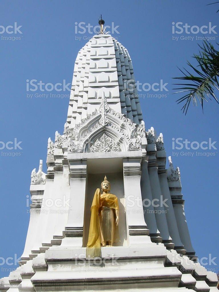 Buddha Statue Temple Bangkok Thailand royalty-free stock photo