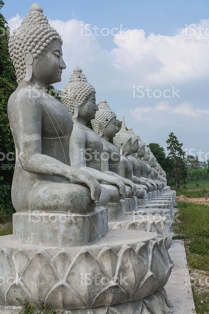 Buddha statue thailand royalty-free stock photo
