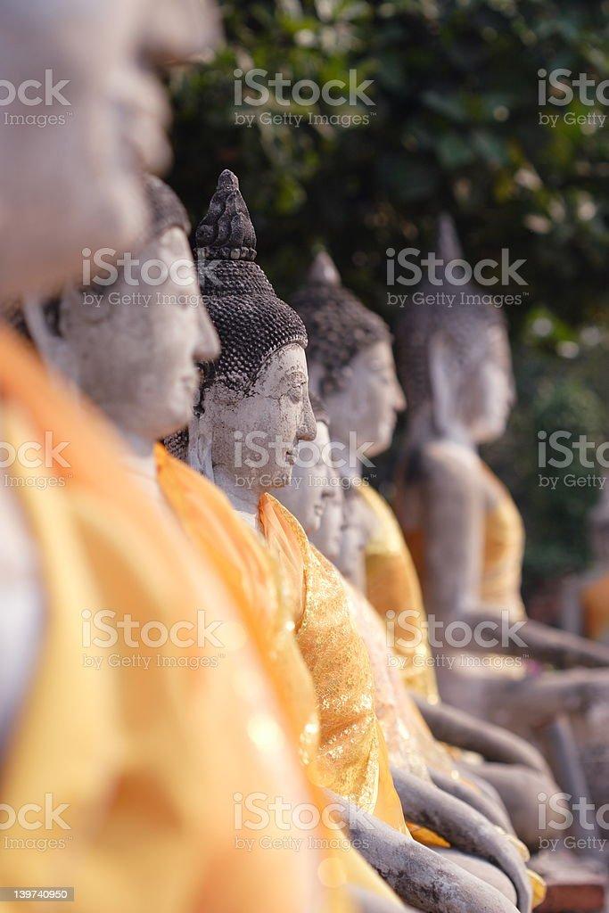 Statue di Buddha foto stock royalty-free