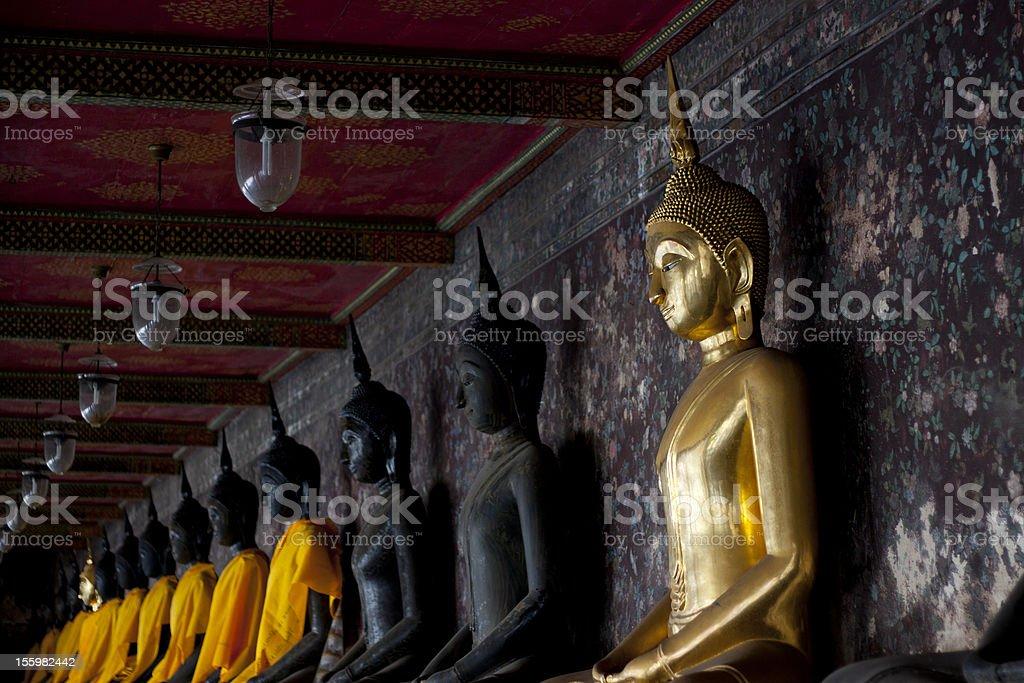 Buddha Statues royalty-free stock photo