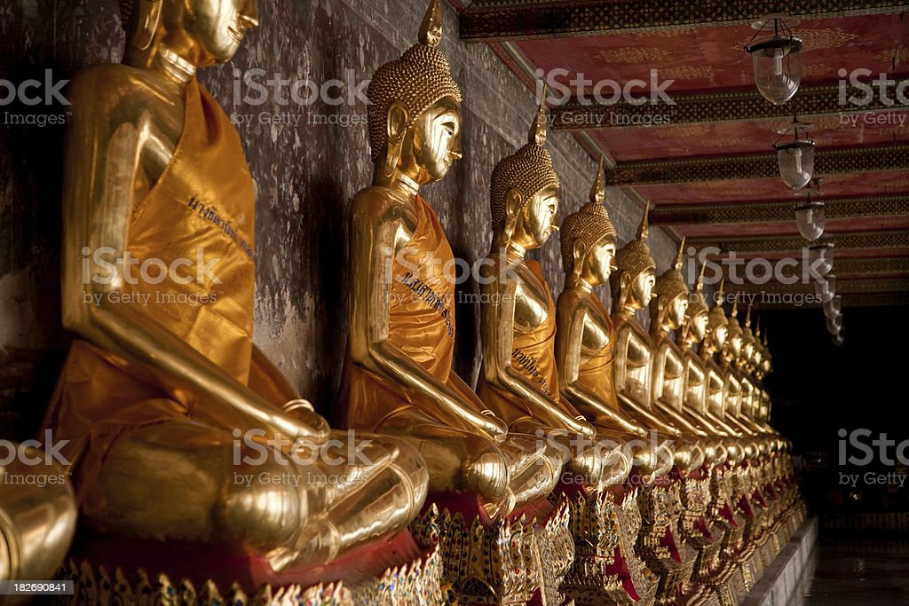 Buddha Statues royalty-free stock photo