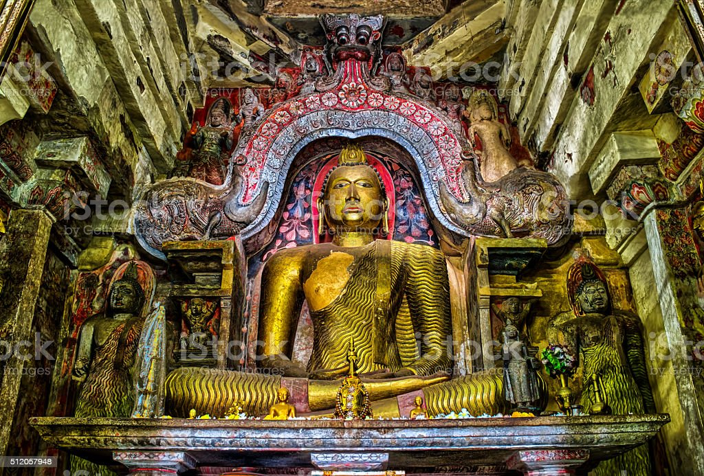 Buddha Statues, Sri Lanka stock photo