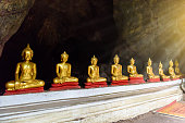 Buddha statues : The Khao Luang cave