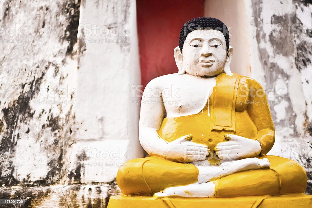 buddha statue,thailand royalty-free stock photo