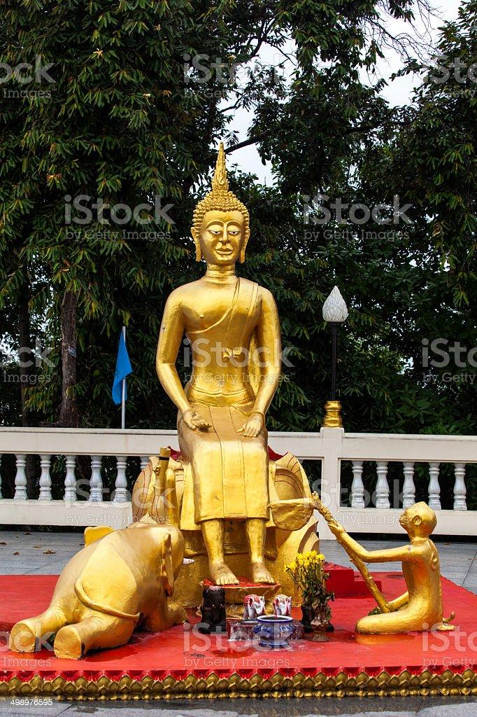 Buddha. Thailand. stock photo