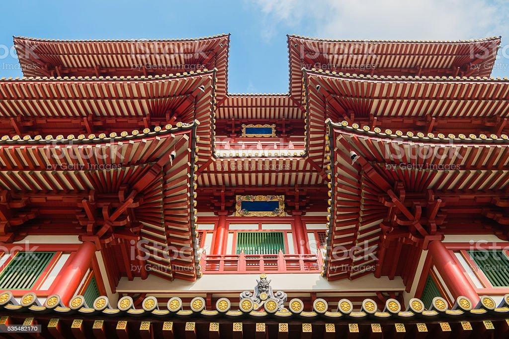 Buddha Tooth Relic Temple,Singapore stock photo