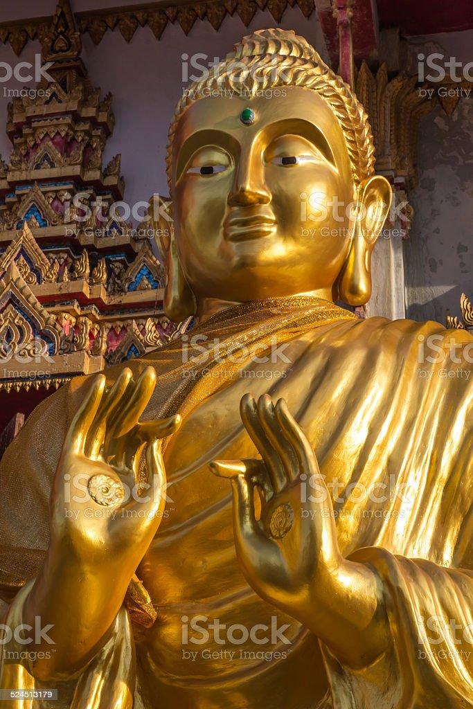 Buddha Wat That in Thailand stock photo