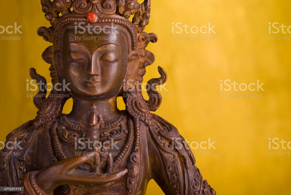 Buddha-purification royalty-free stock photo