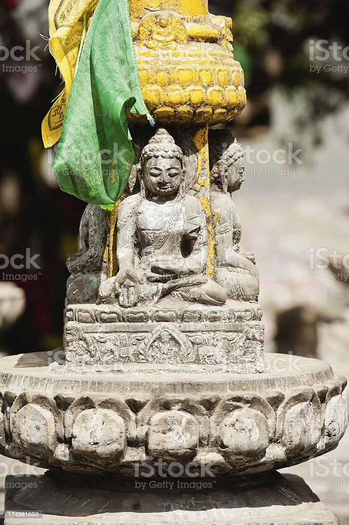 Buddhas of Four Directions royalty-free stock photo