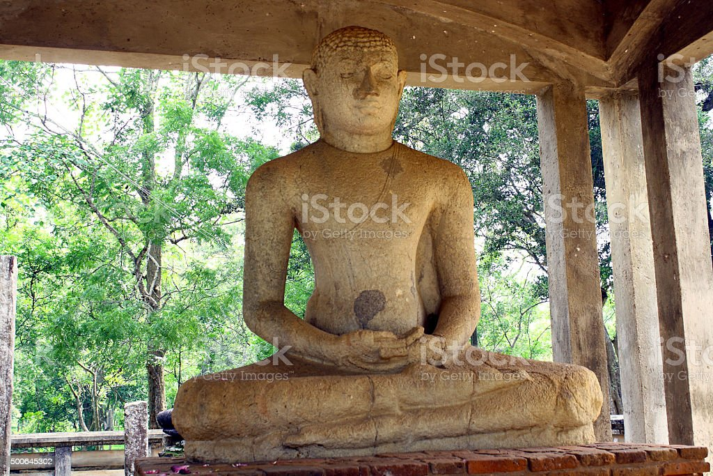 Buddha's statue - 1 stock photo