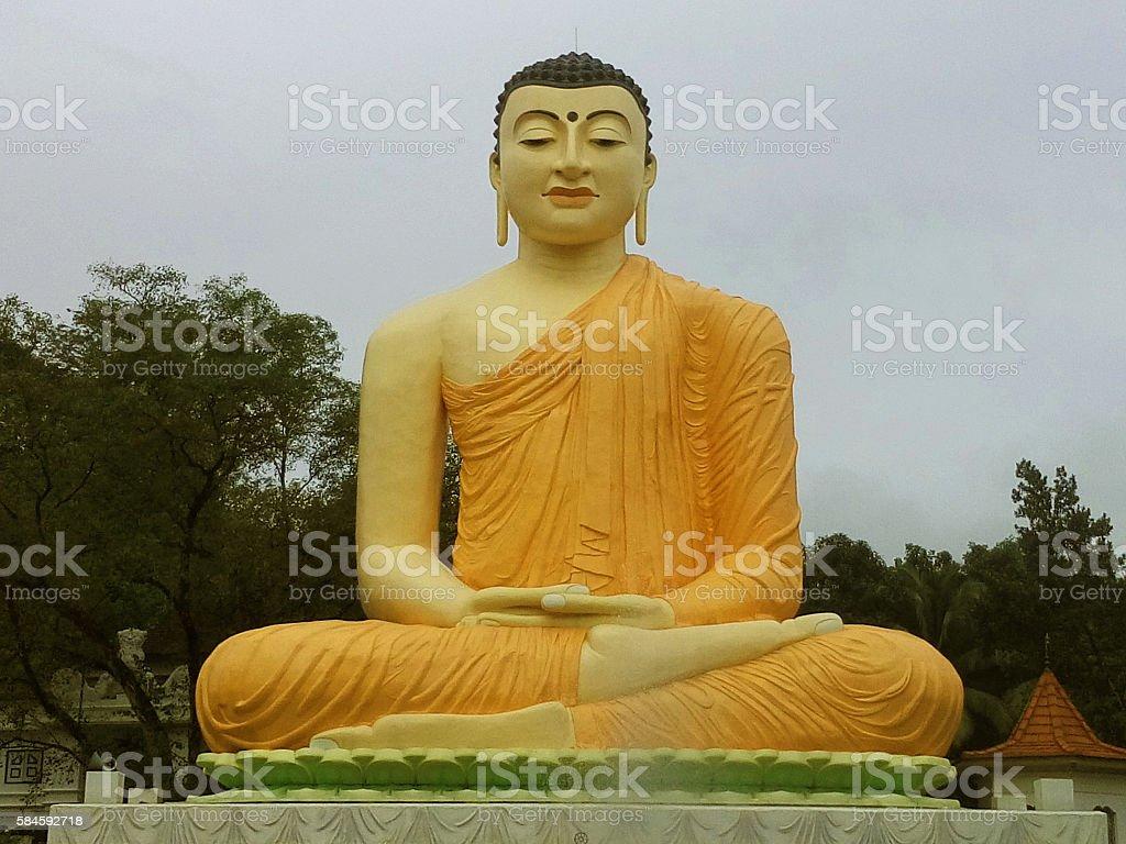 Buddhas' statue in Sri Lanka - 1 stock photo