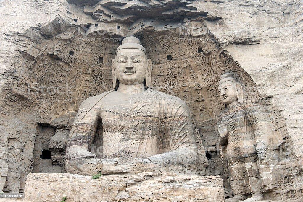 'Buddhism ,Buddha ,Religion, Yungang Grottoes' stock photo