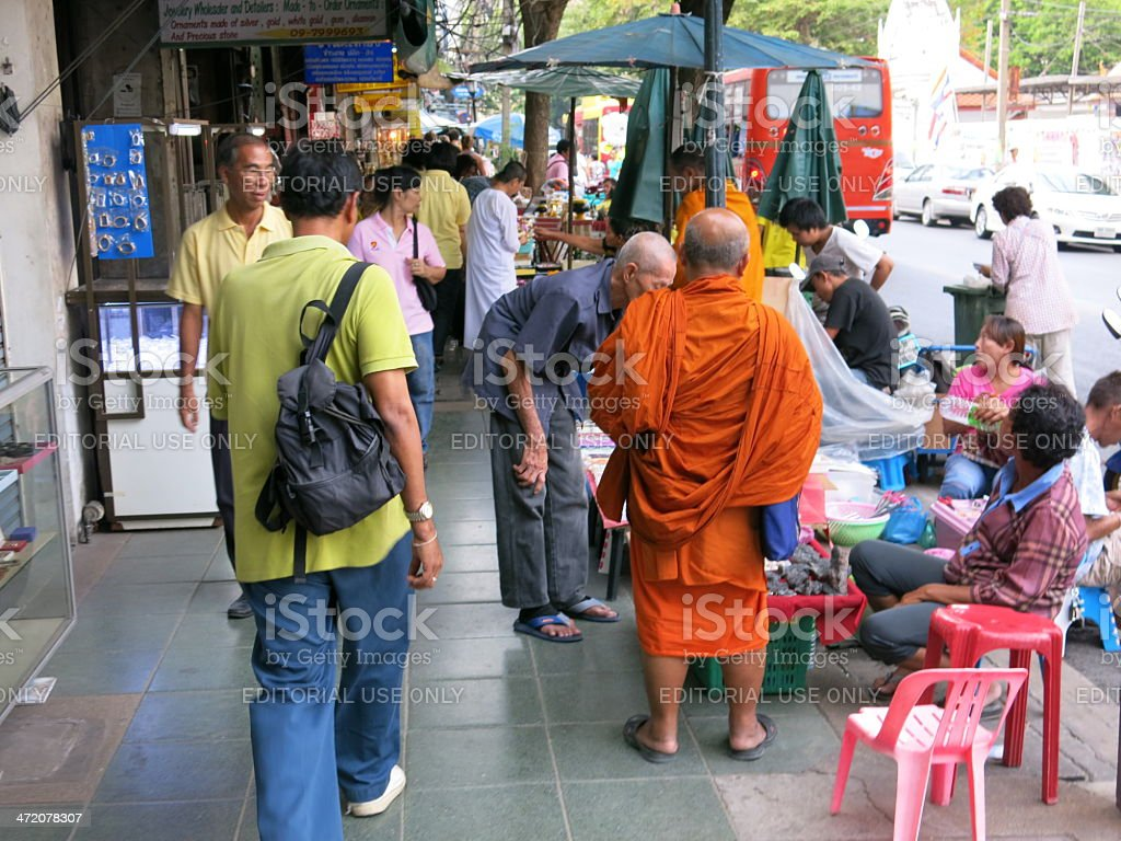 Buddhism in Asia stock photo