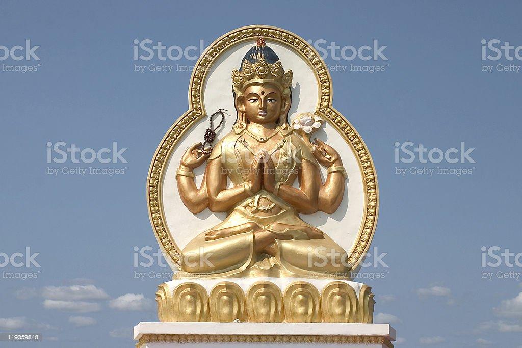 buddhism in Siberia stock photo