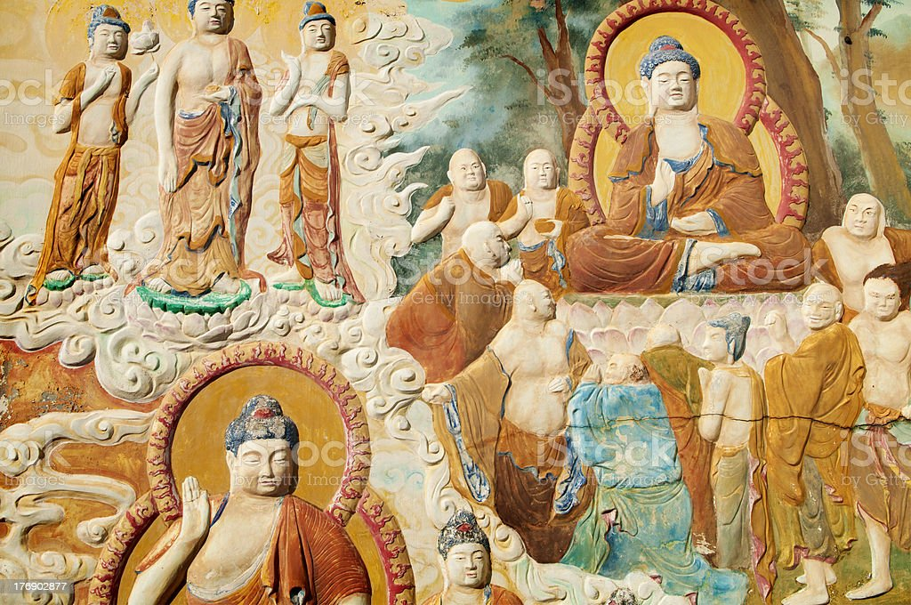 Buddhism picture royalty-free stock photo