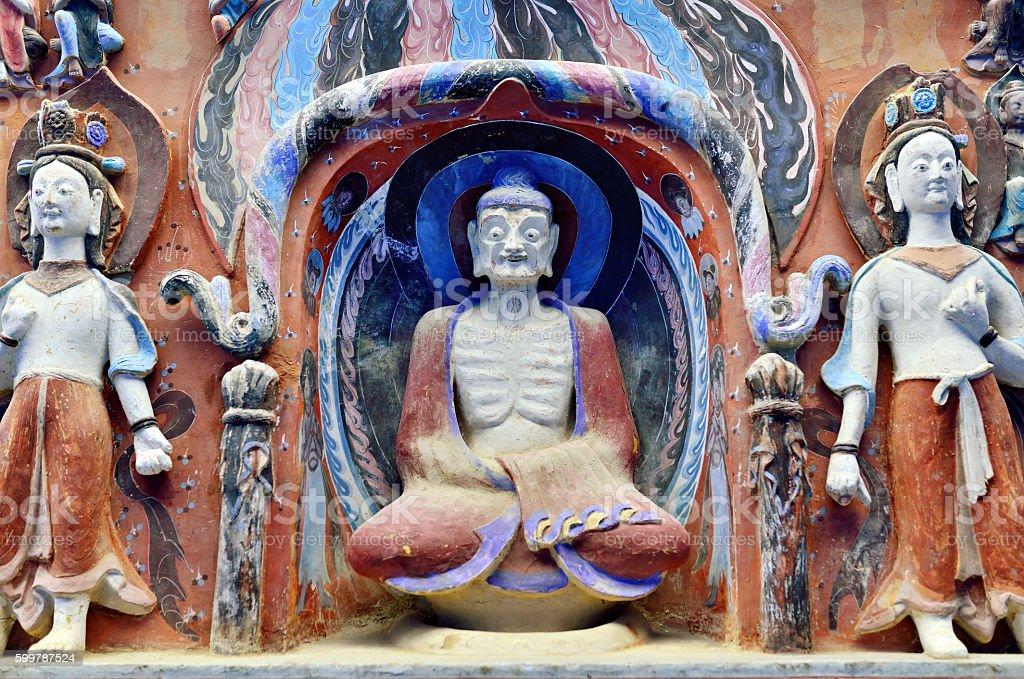 Buddhism Sculpture stock photo