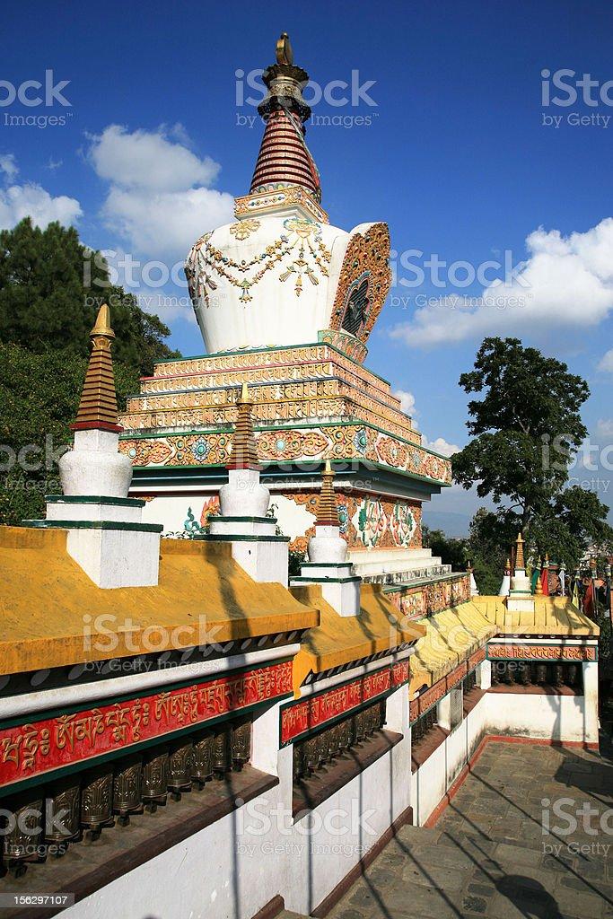buddhism tower royalty-free stock photo