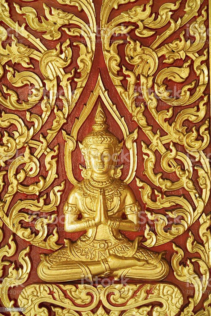 Buddhist artwork royalty-free stock photo