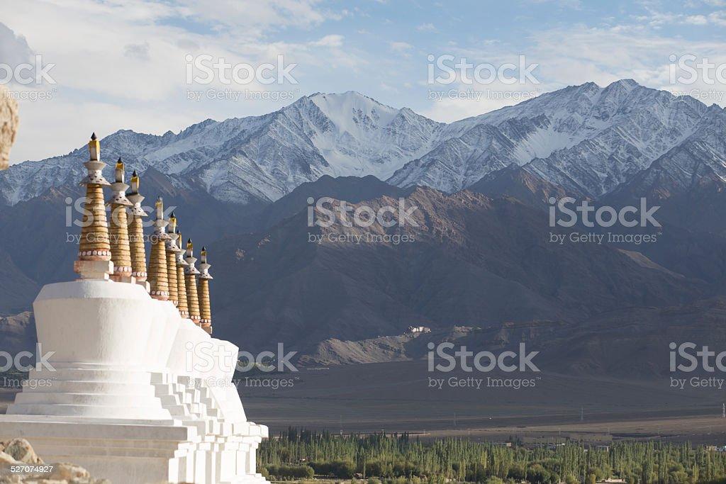 Buddhist chortens (stupa)  Stock Photo: stock photo