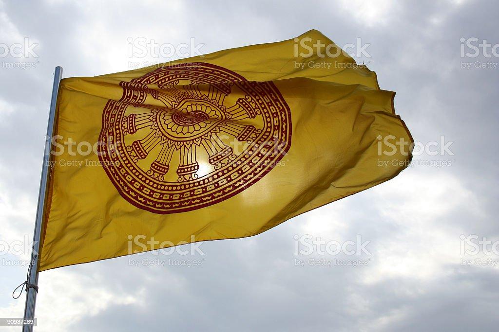 Buddhistische Flagge-Thailand – Foto
