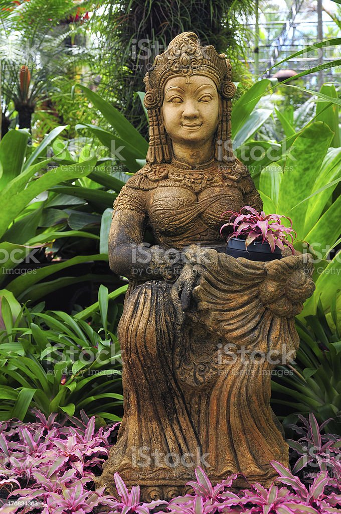 Buddhist Goddess stock photo