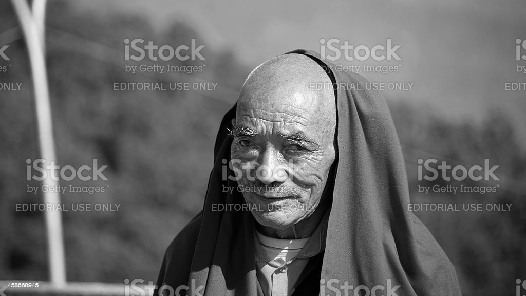 Buddhist monk. royalty-free stock photo