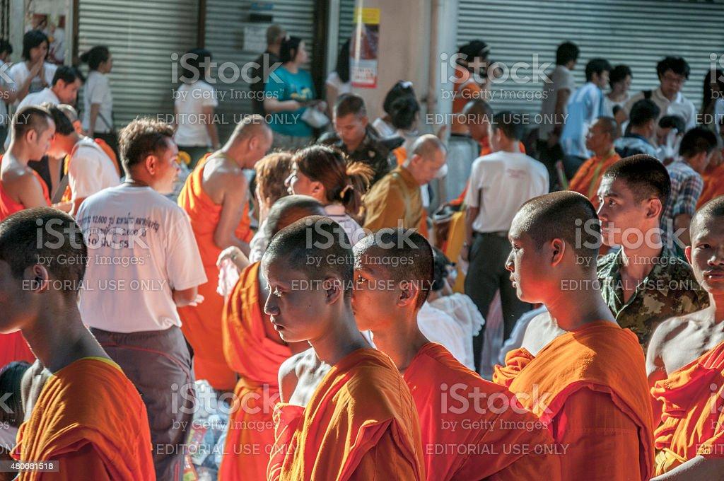Buddhist Monks stock photo