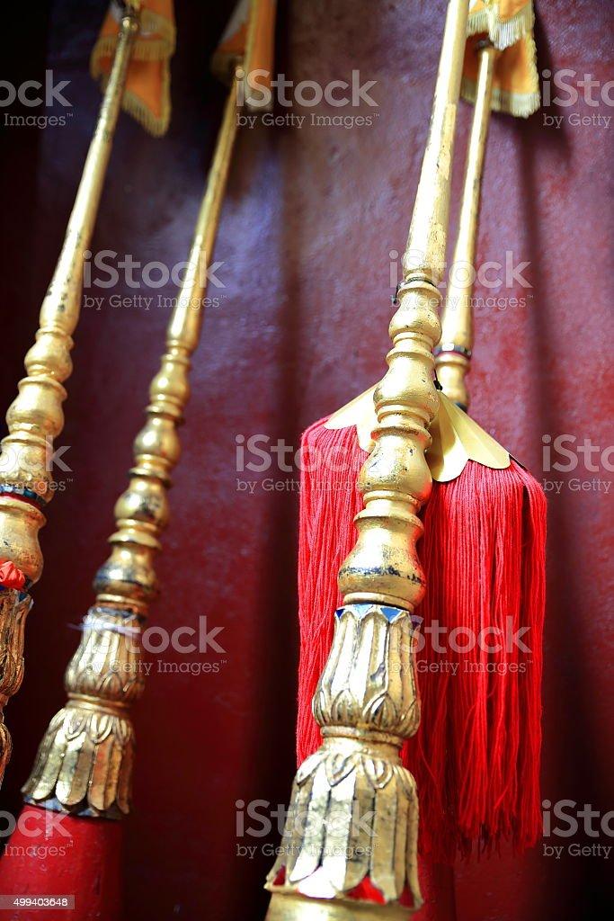 buddhist object-laos stock photo