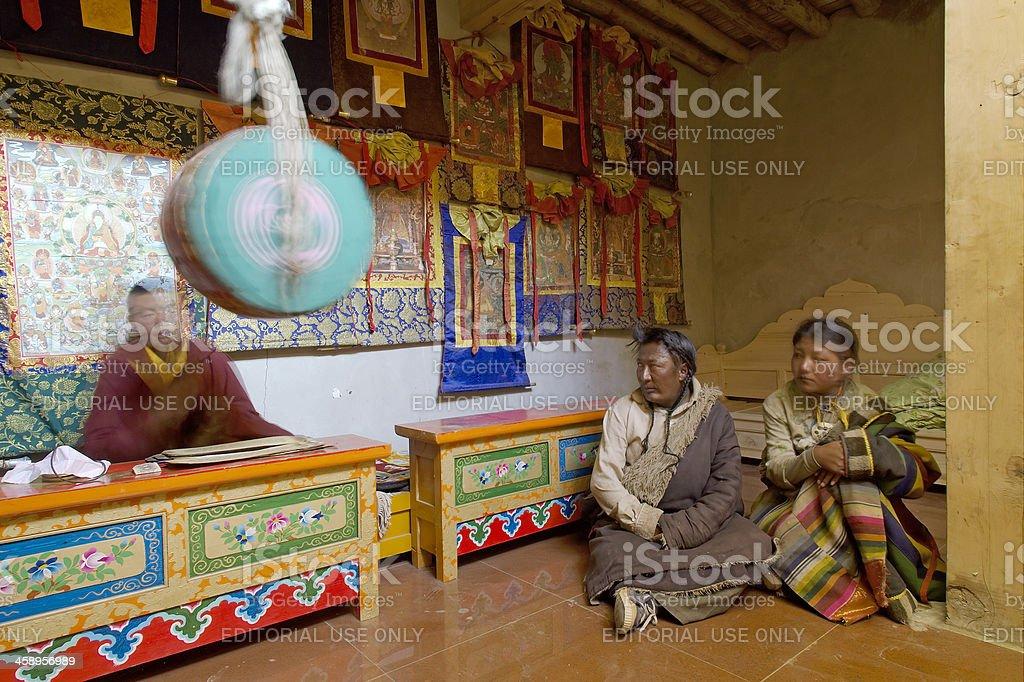 Buddhist Pray stock photo