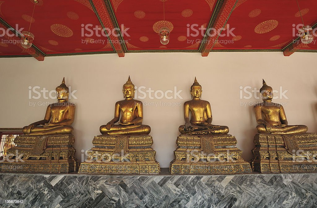 Buddhist sanctuary royalty-free stock photo