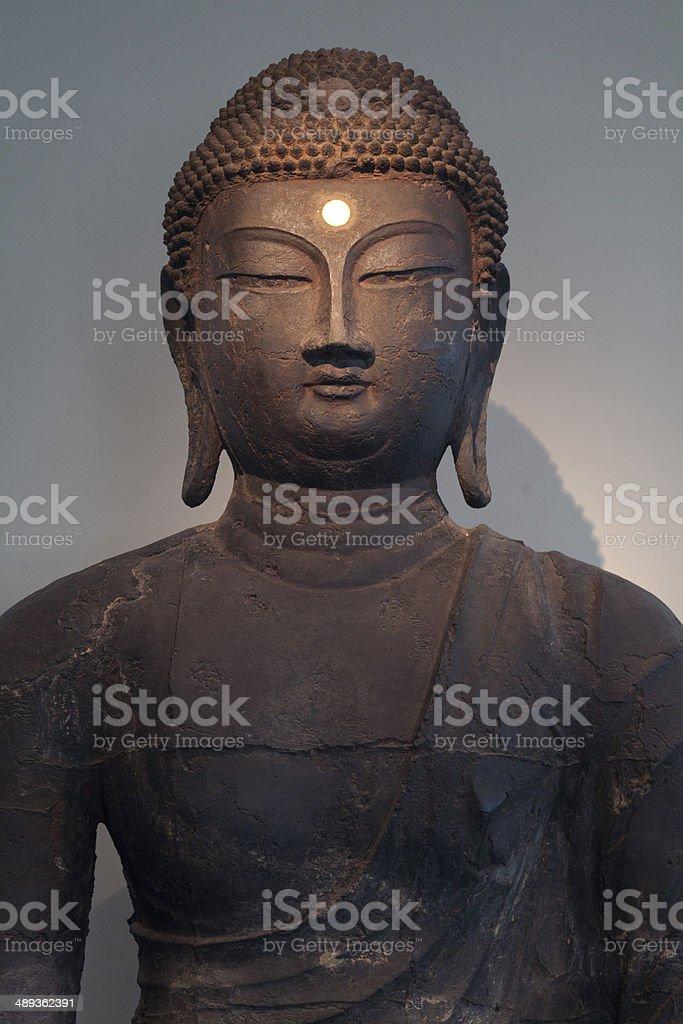 Buddhist Sculpture of Korea royalty-free stock photo