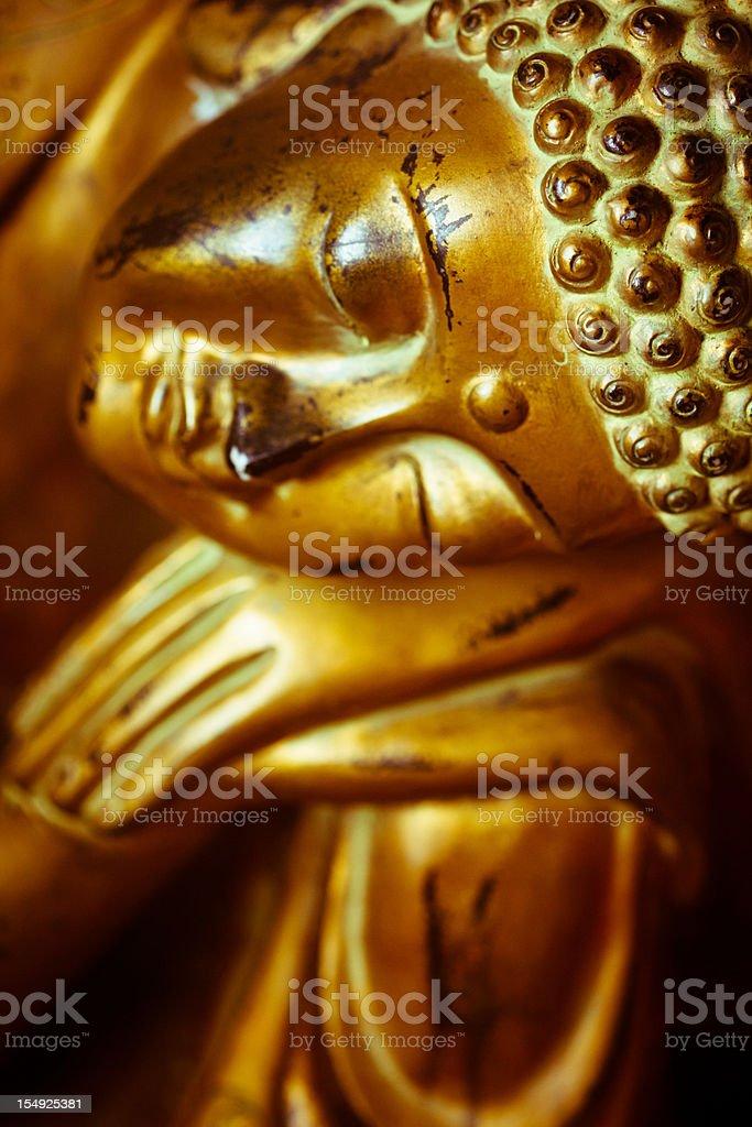 Buddhist Sculpture royalty-free stock photo