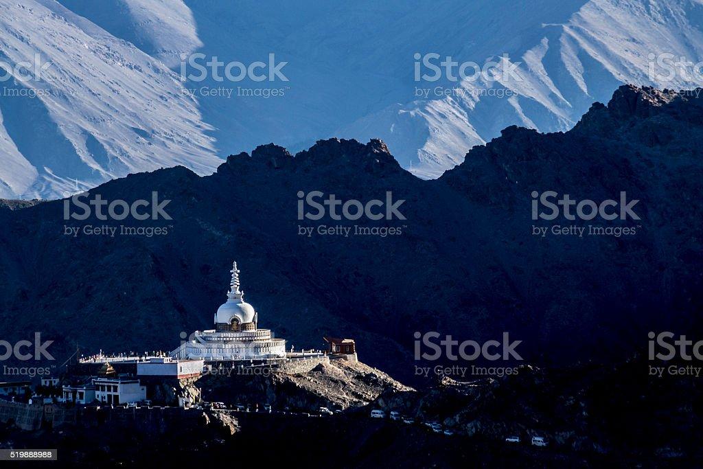 Buddhist stupa stock photo
