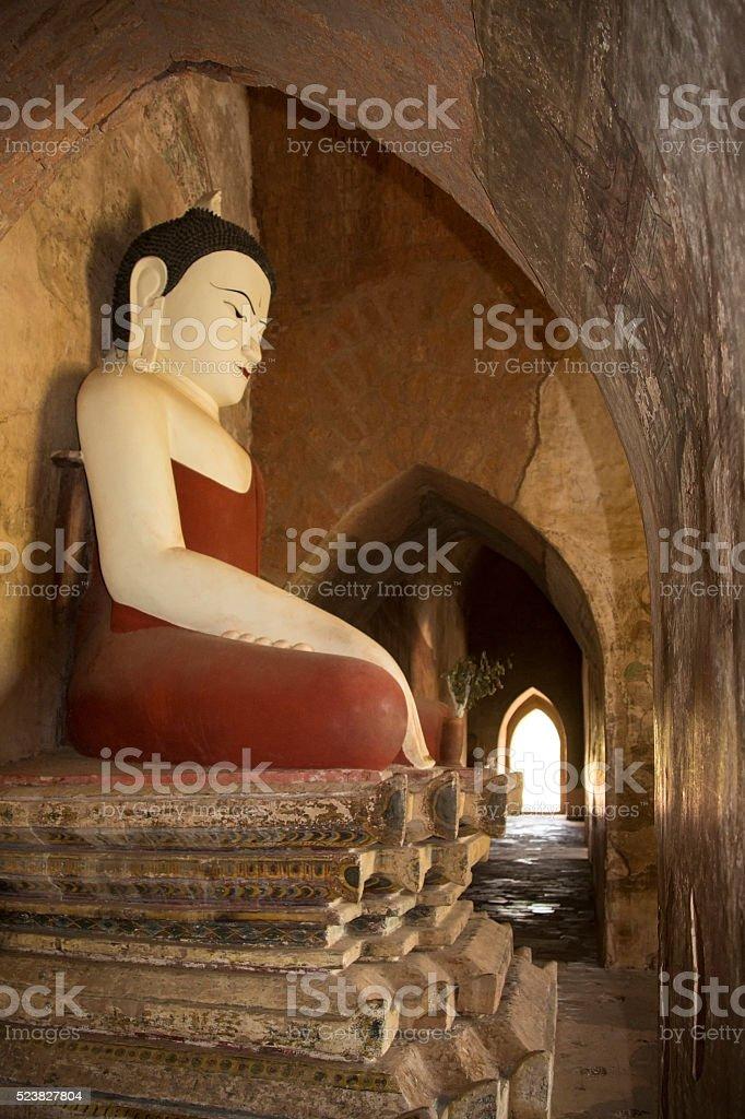 Buddhist Temple - Bagan - Myanmar stock photo