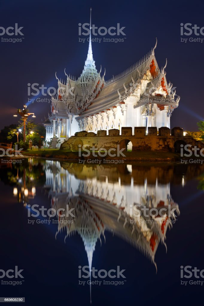 Buddhist Temple of Ancient City stock photo