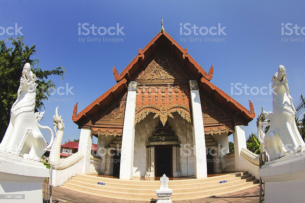buddhist temple stock photo