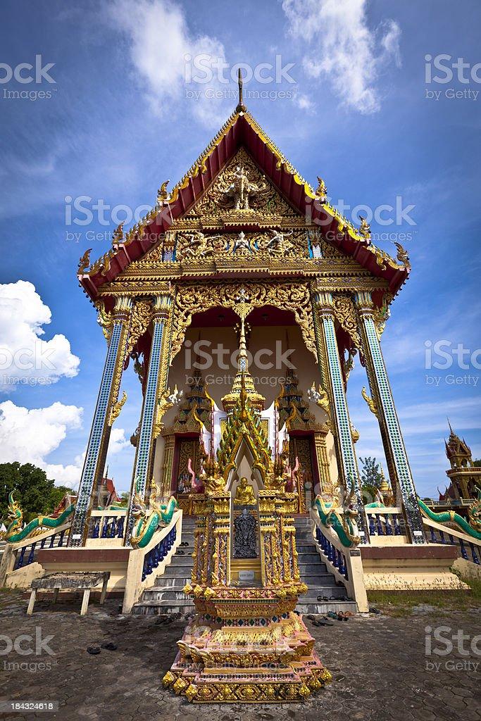 buddhist temple stock photo